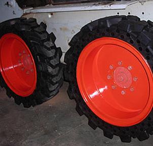 Solid Skid Steer Replacement Tire