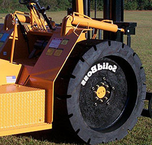 Summer Solid Skid Steer Tires